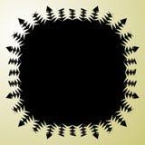 Geometrisch radiaal element Abstracte concentrische, radiale geometrisch stock illustratie