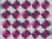 Geometrisch roze patroon op de grijze achtergrond stock illustratie