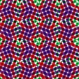 Geometrisch slordig gevoerd naadloos patroon, heldere vector eindeloze bedelaars vector illustratie