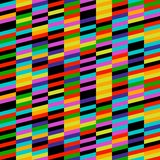Geometrisch Strepenpatroon Royalty-vrije Stock Afbeelding