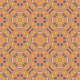 Geometrisch symmetrie naadloos patroon royalty-vrije illustratie