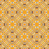 Geometrisch symmetrie naadloos patroon stock illustratie