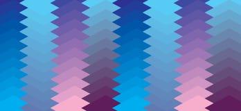 Geometrisch Vectorpatroon Royalty-vrije Illustratie