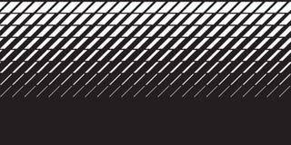 Geometrisch vermindern Sie Linien Steigungsmotiv stock abbildung