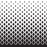 Geometrisch vermindern Sie Motiv im Weiß und im Schwarzen stock abbildung
