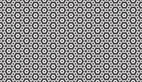 Geometrisch vierkant en punten herhaald patroonontwerp stock illustratie