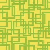 Geometrisch vierkant vorm vector naadloos patroon vector illustratie