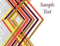 Geometrisch Weefsel Royalty-vrije Stock Fotografie
