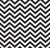 Geometrisch zigzag naadloos patroon Stock Fotografie