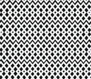 Geometrisch zwart-wit naadloos patroon. Nettin stock afbeeldingen