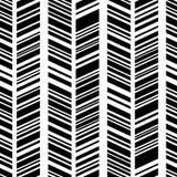 Geometrisch zwart-wit patroon Royalty-vrije Stock Afbeelding