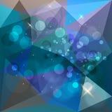 Geometrische abstracte achtergrond Royalty-vrije Stock Afbeelding