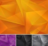 Geometrische abstracte achtergrond stock illustratie