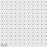 Geometrische Abstracte Achtergrond met Verbonden Lijn en Dots Patterns Stock Foto's
