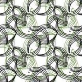 Geometrische abstracte heldere retro backgr van het elementen naadloze patroon Royalty-vrije Stock Fotografie