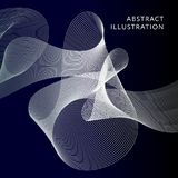 Geometrische Abstracte Illustratie Achtergrond Vectorvormbanner vector illustratie