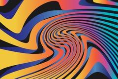 Geometrische Abstracte Kleurrijke Patroonachtergrond Stock Afbeelding