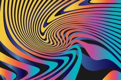 Geometrische Abstracte Kleurrijke Patroonachtergrond Royalty-vrije Stock Afbeelding