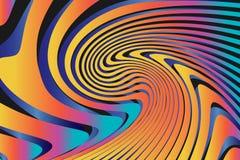 Geometrische Abstracte Kleurrijke Patroonachtergrond stock illustratie