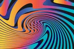 Geometrische Abstracte Kleurrijke Patroonachtergrond Stock Fotografie