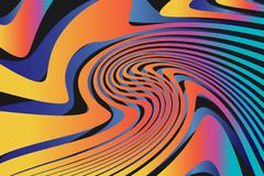 Geometrische Abstracte Kleurrijke Patroonachtergrond Stock Foto's