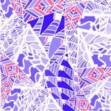 Geometrische abstracte patroonachtergrond Stock Afbeelding