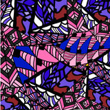 Geometrische abstracte patroonachtergrond Royalty-vrije Stock Afbeeldingen