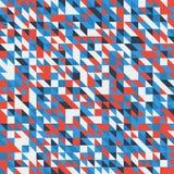 Geometrische abstracte retro achtergronden Stock Foto's