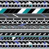 Geometrische abstracte vorm Stock Foto