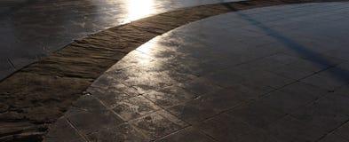 Geometrische Abstraktionen der Straße Stockbild