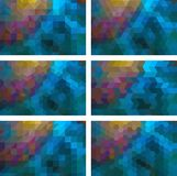 Geometrische Achtergrond stock afbeelding