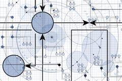 Geometrische Achtergrond stock illustratie