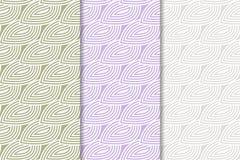 Geometrische Achtergrond Abstract Naadloos Behang Gekleurde reeks Royalty-vrije Stock Foto
