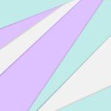Geometrische achtergrond in materiële ontwerpstijl royalty-vrije illustratie