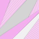 Geometrische achtergrond in materiële ontwerpstijl stock illustratie
