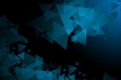 Geometrische achtergrond in Origamistijl met gradiënt stock afbeelding
