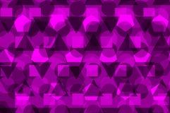 Geometrische achtergrond - purple, stock illustratie