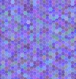 Geometrische achtergrond van gekleurde zeshoeken Stock Foto