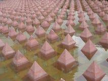 Geometrische architectuur Stock Foto