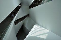 Geometrische architectuur Royalty-vrije Stock Afbeeldingen
