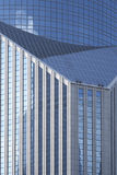Geometrische Auslegung der modernen Bankverkehrs-Architektur Stockfoto