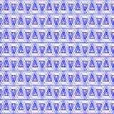 Geometrische Beschaffenheit des Dreiecks Stockfotografie