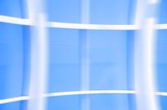 Geometrische Blauwe abstracte achtergrond Royalty-vrije Stock Foto