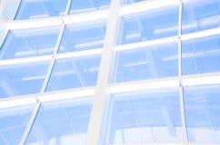 Geometrische Blauwe abstracte achtergrond Royalty-vrije Stock Foto's