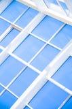 Geometrische Blauwe abstracte achtergrond Stock Fotografie