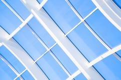 Geometrische Blauwe abstracte achtergrond Stock Afbeelding