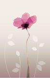Geometrische bloemvector Stock Foto's