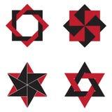 Geometrische cijfers Royalty-vrije Stock Foto's