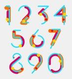 Geometrische cijfers Royalty-vrije Stock Afbeeldingen