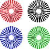 Geometrische cijfers Stock Afbeelding